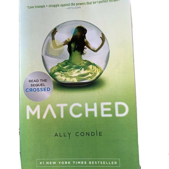 Matched Ally Condie Paperback Book Young Adult